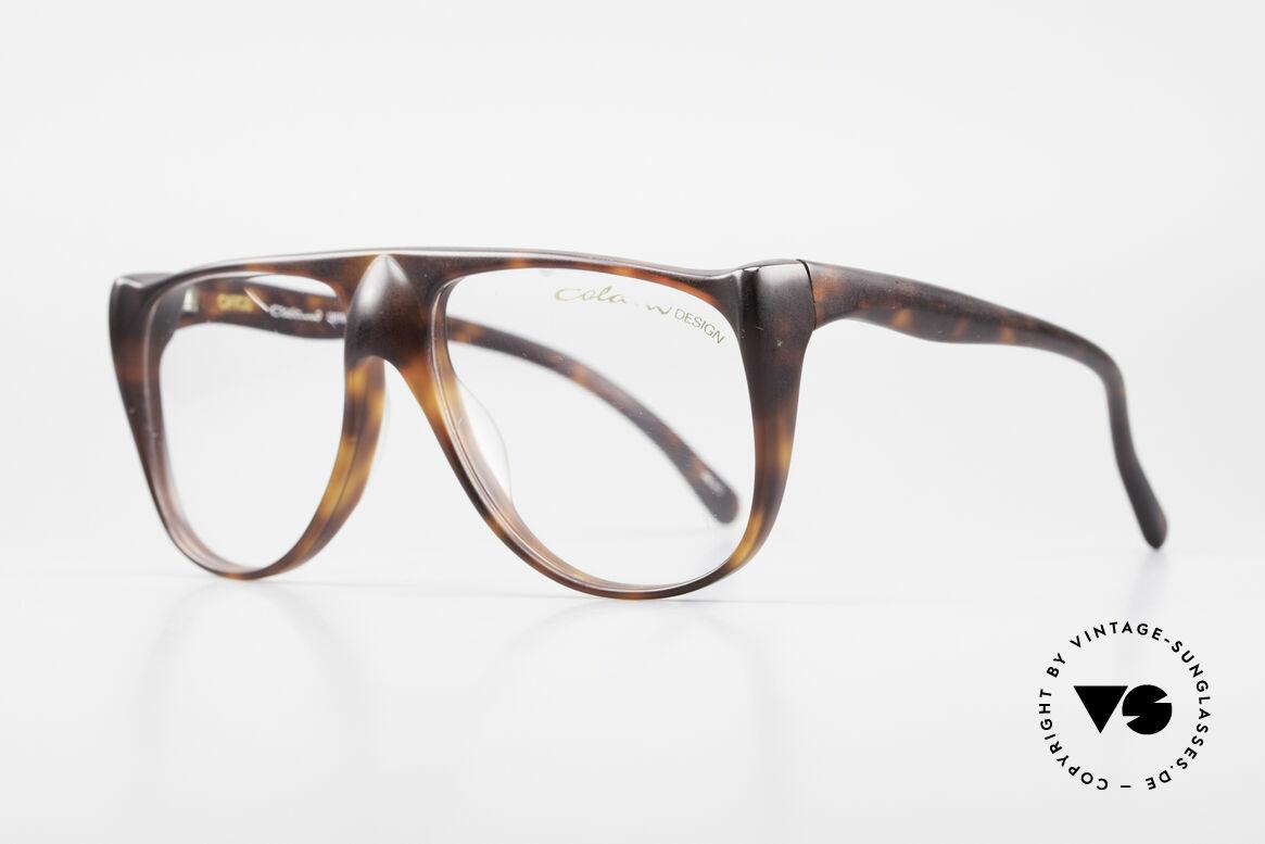 "Colani 15-331 Schwungvolle Vintage Brille, Motto: ""The natural world is made up of curved lines"", Passend für Herren"