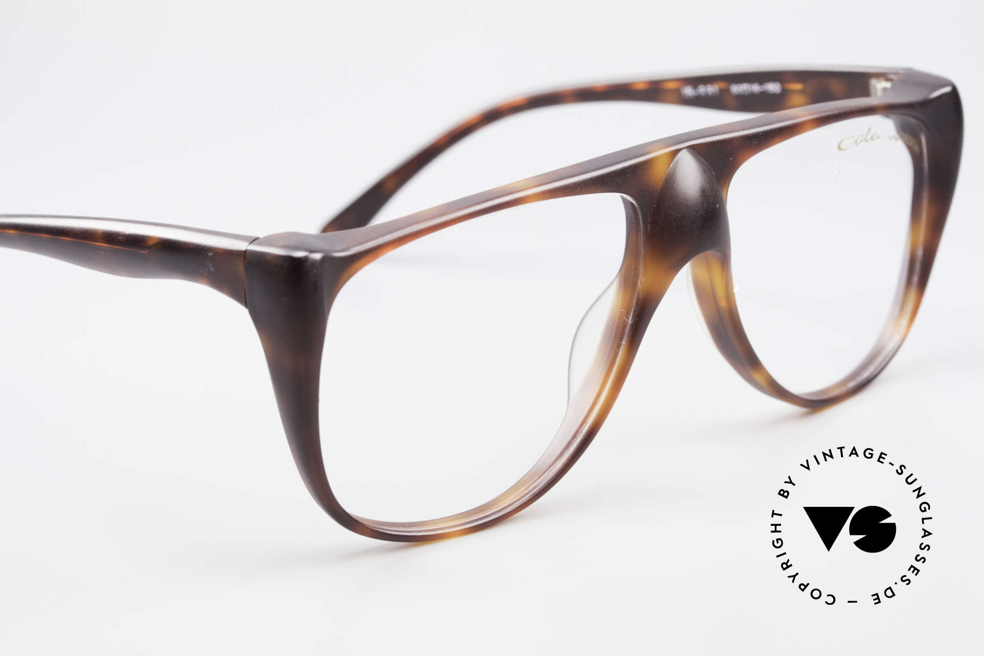 Colani 15-331 Schwungvolle Vintage Brille, KEINE RETROBRILLE; ein circa 35 Jahre altes Original, Passend für Herren
