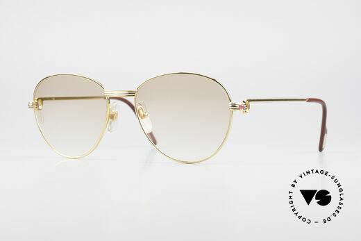 Cartier S Rubis 0,34 ct Echte Rubinen Sonnenbrille Details