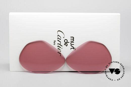 Cartier Vendome Lenses - L Sonnengläser Pink Details