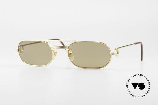 Cartier MUST LC - S Echt 80er Luxus Vintage Brille Details