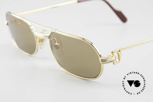 Cartier MUST LC - S Echt 80er Luxus Vintage Brille
