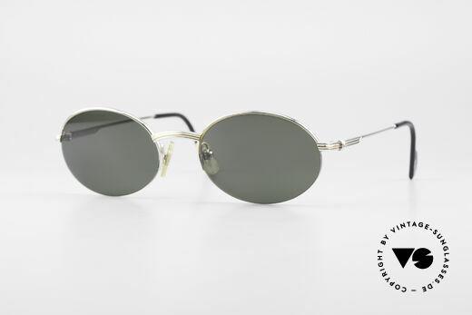 Cartier Manhattan Ovale Luxus Platin Brille Details