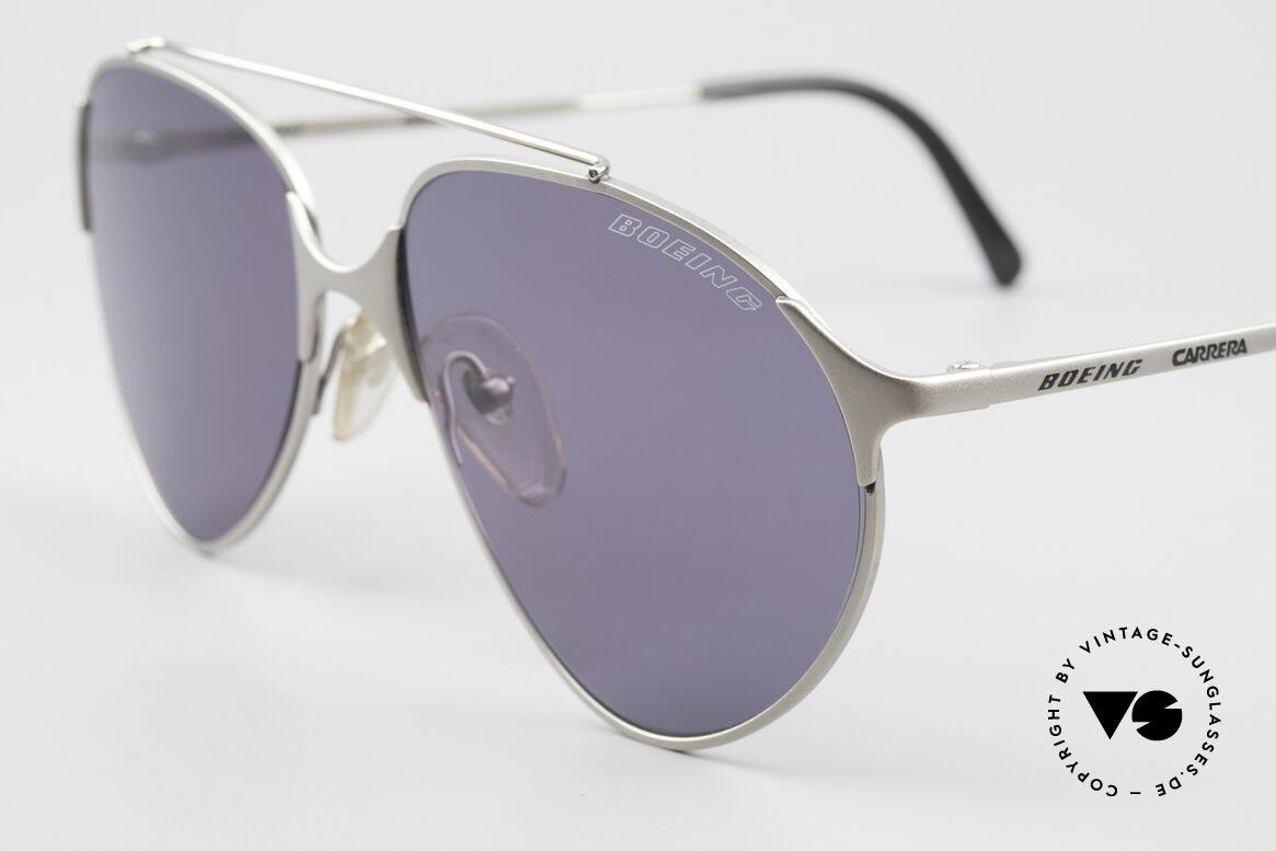 Boeing 5710 Mickey Rourke Killshot Brille, ungetragen (wie alle unsere VINTAGE Pilotenbrillen), Passend für Herren