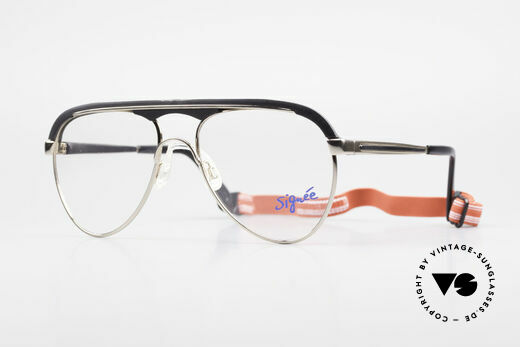 Metzler 0250 Echt Vintage 80er Sportbrille Details