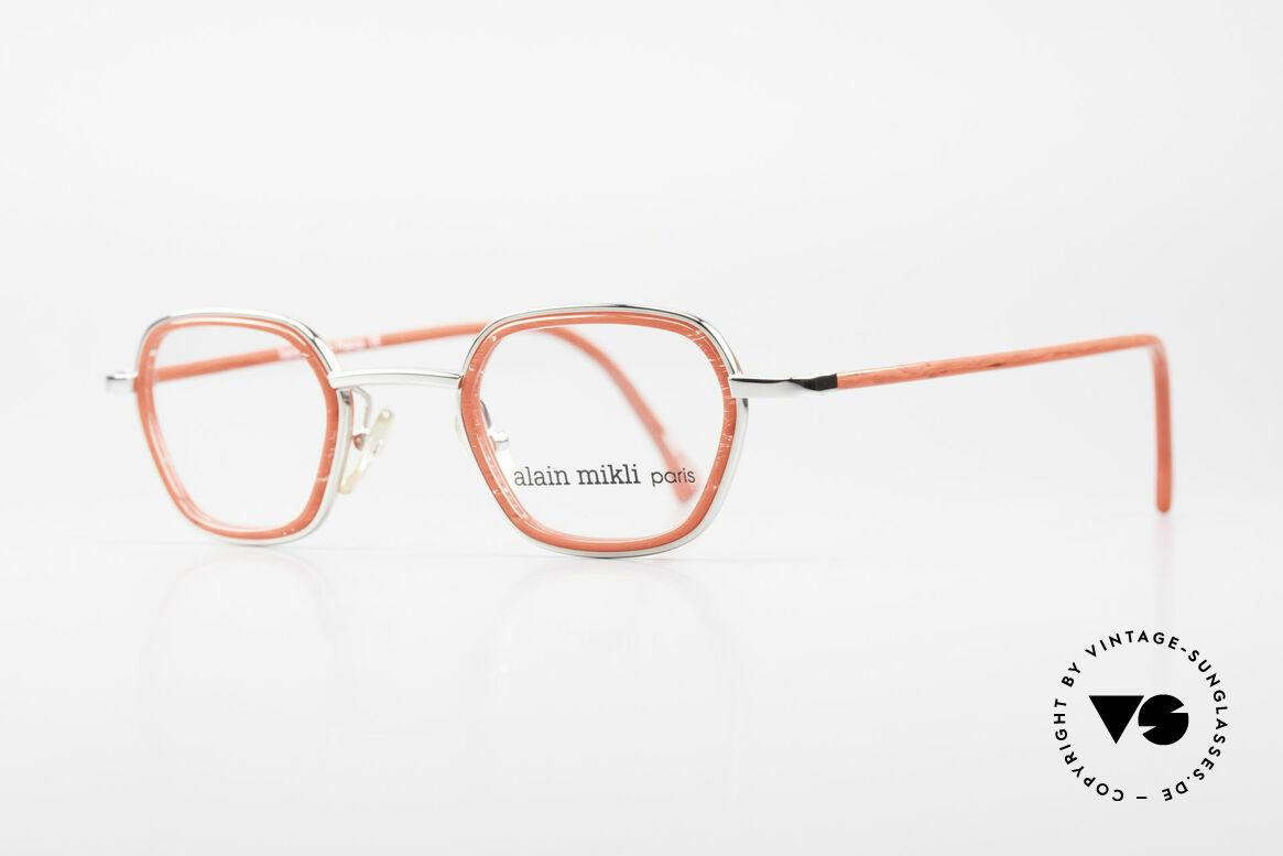 Alain Mikli 1642 / 1006 Vintage Brille In Mikli Rot