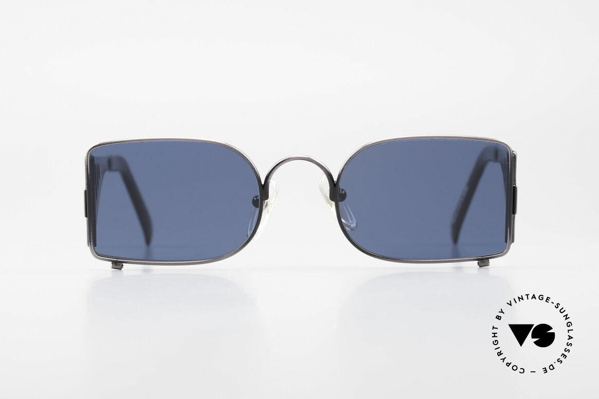Jean Paul Gaultier 56-0177 Golden Gate Bridge Brille, vintage Designer-Sonnenbrille von J.P. Gaultier, Passend für Herren und Damen