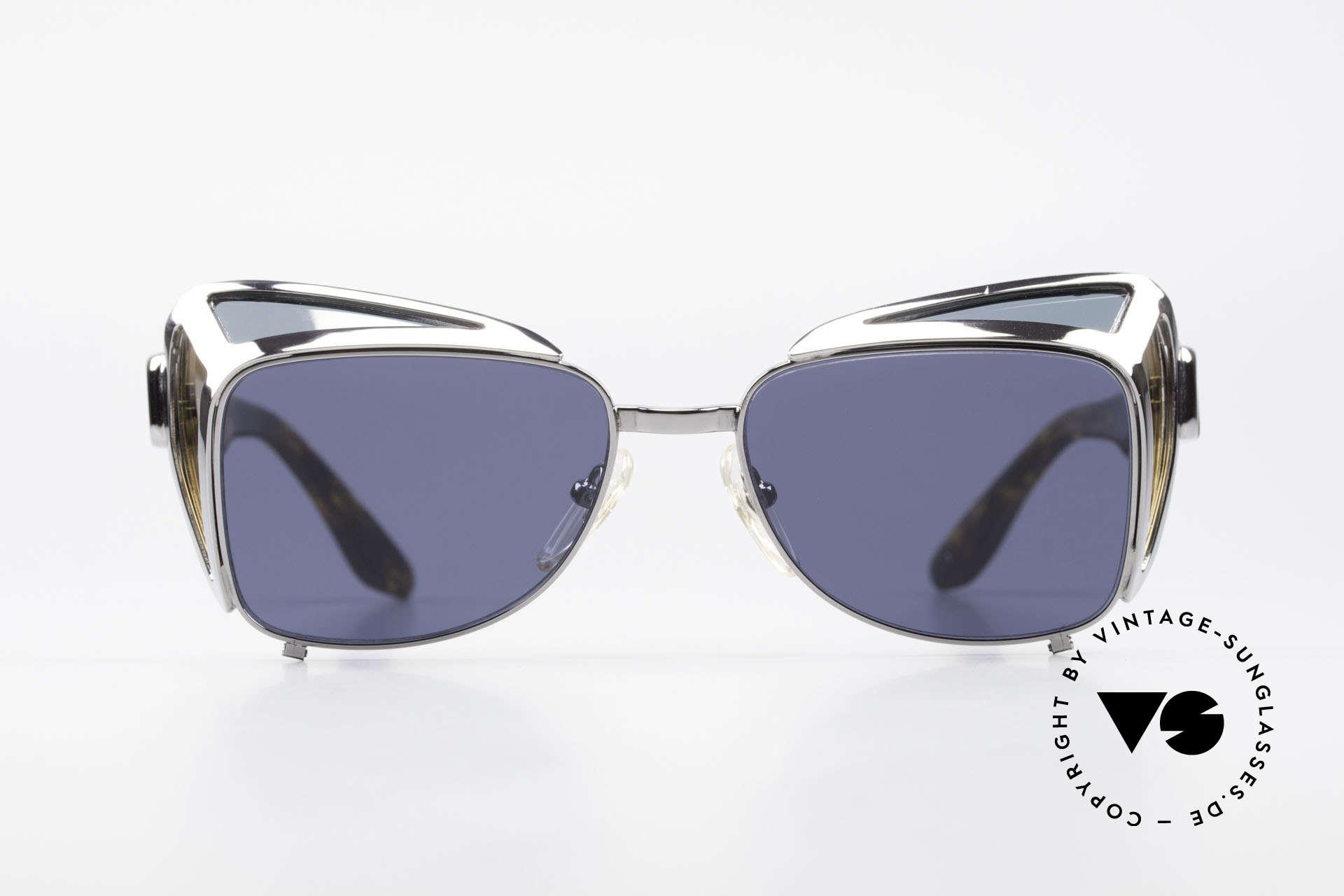 Jean Paul Gaultier 56-9272 Steampunk Sonnenbrille JPG, äußerst kreatives Designerstück = kostbar & rar, Passend für Herren