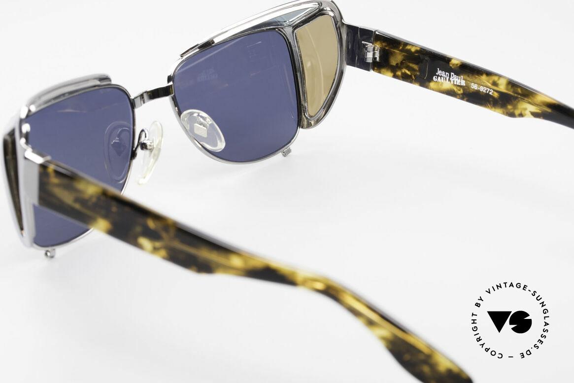Jean Paul Gaultier 56-9272 Steampunk Sonnenbrille JPG, Größe: large, Passend für Herren