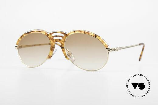 Bugatti 15287 Bernstein Optik Sonnenbrille Details