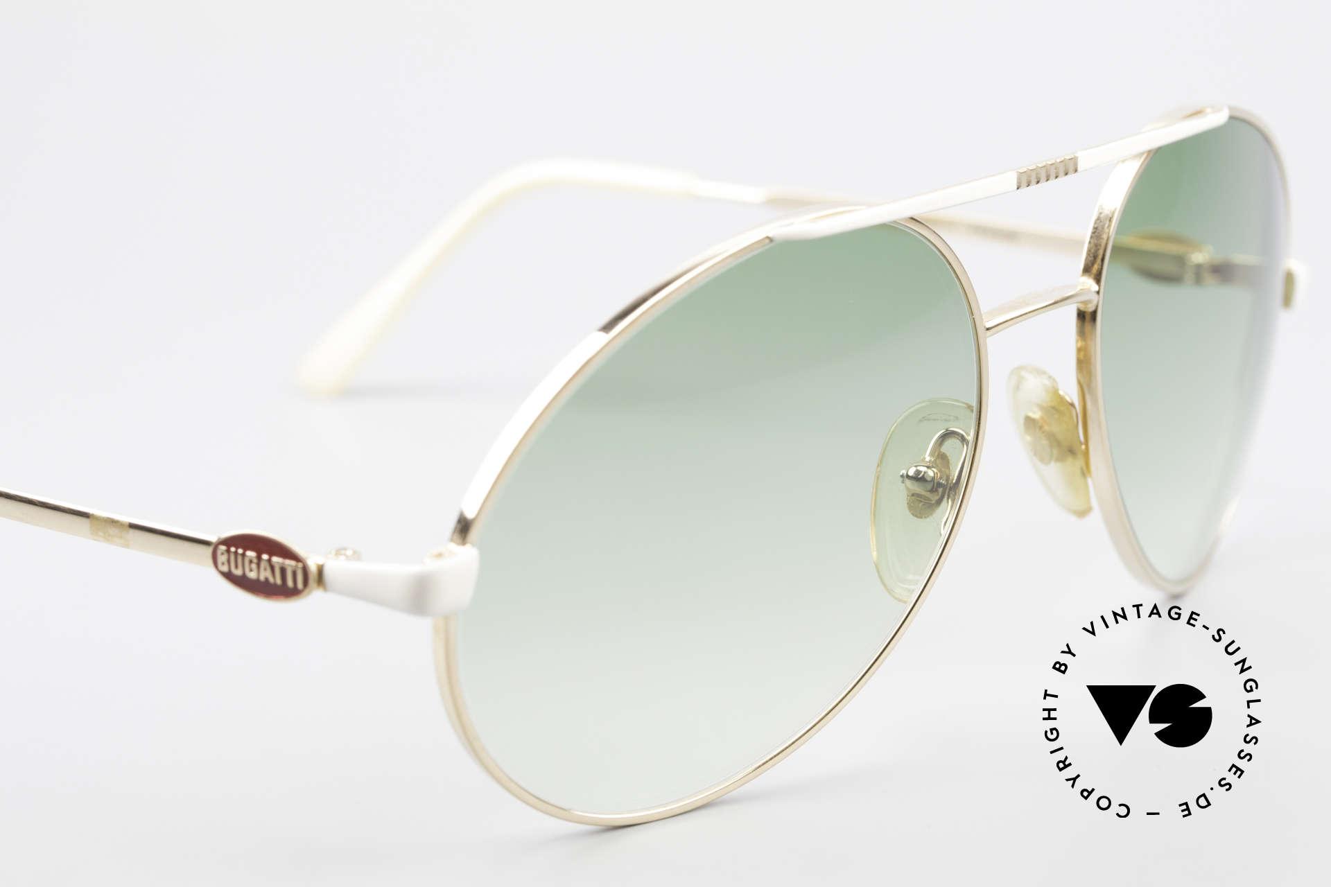 Bugatti 64319 Original 80er Sonnenbrille, ein altes Original von 1983 und KEINE RETRObrille!, Passend für Herren