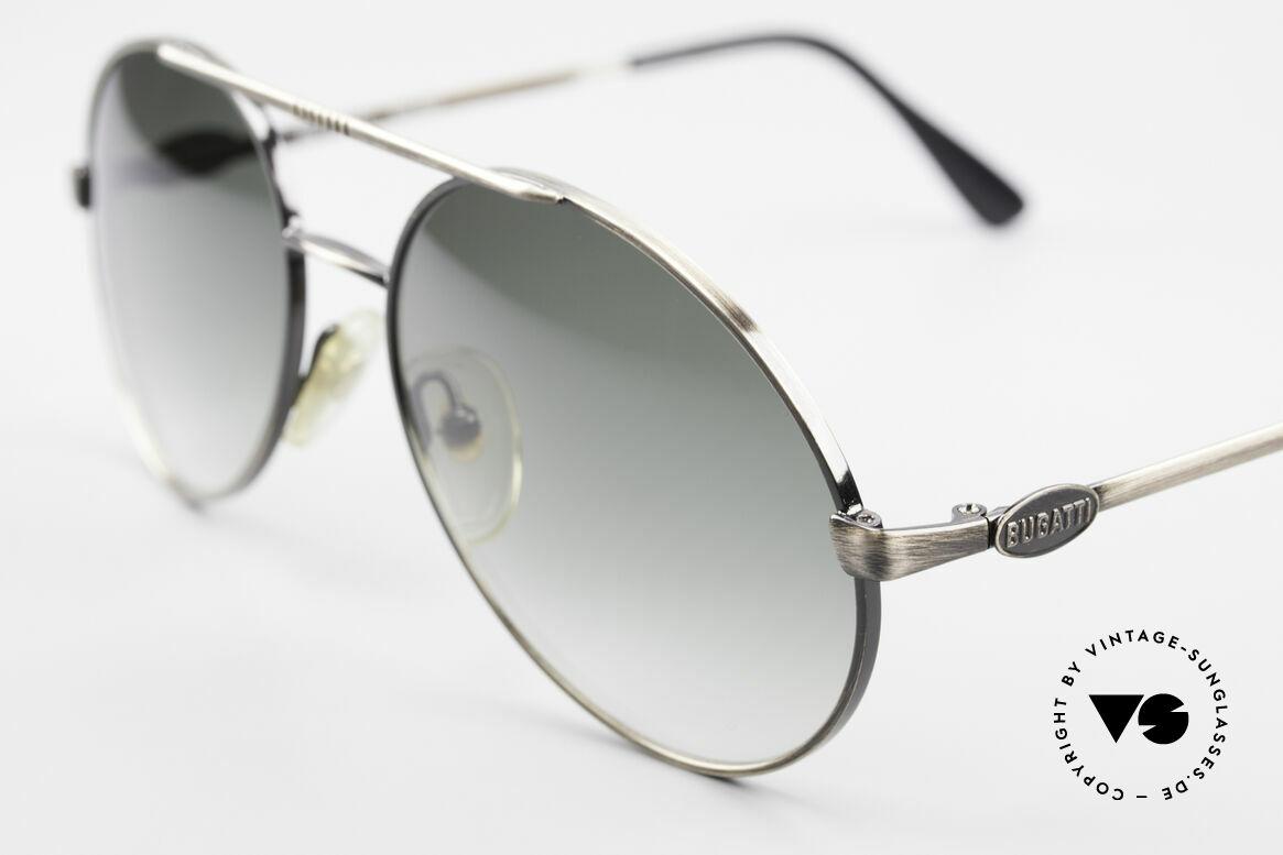 Bugatti 65282 Vintage Herrensonnenbrille, hochwertiger/anspruchsvoller geht's eigentlich nicht, Passend für Herren