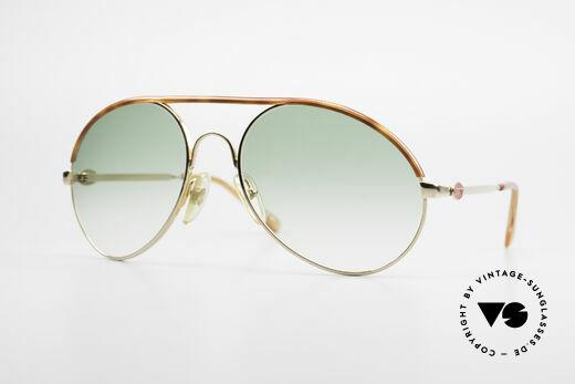 Bugatti 65986 80er Herren XL Sonnenbrille Details
