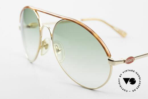 Bugatti 65986 80er Herren XL Sonnenbrille