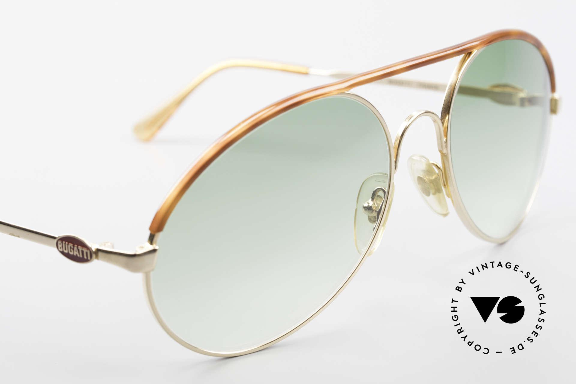 Bugatti 65986 80er Herren XL Sonnenbrille, ungetragen (wie alle unsere vintage BUGATTIS), Passend für Herren