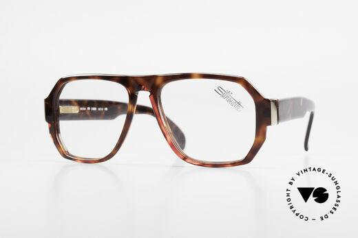 Silhouette M2154 Echt 80er Old School Brille Details