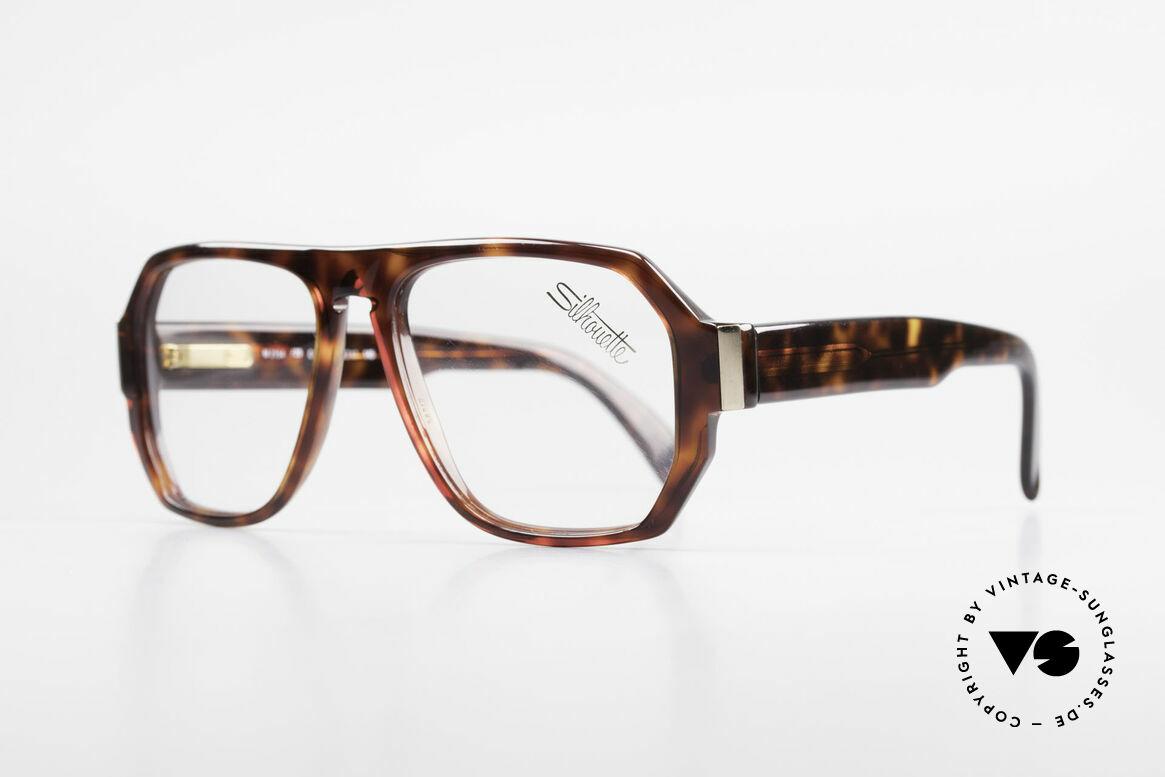 Silhouette M2154 Echt 80er Old School Brille
