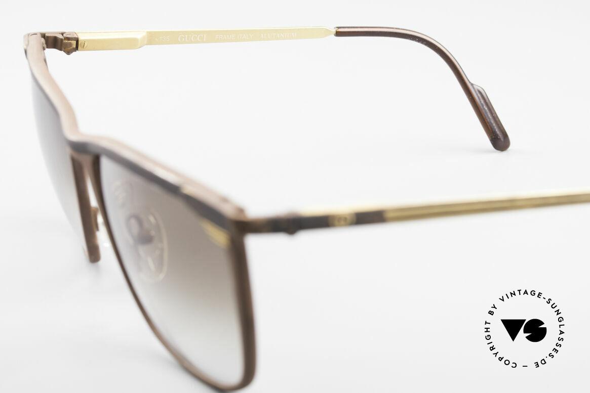 Gucci 2227 Luxus Designer Sonnenbrille, KEINE Retrosonnenbrille; ein altes vintage Original, Passend für Herren und Damen