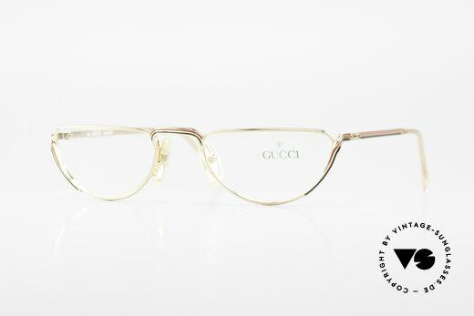 Gucci 2203 Vintage Luxus Lesebrille 80er Details