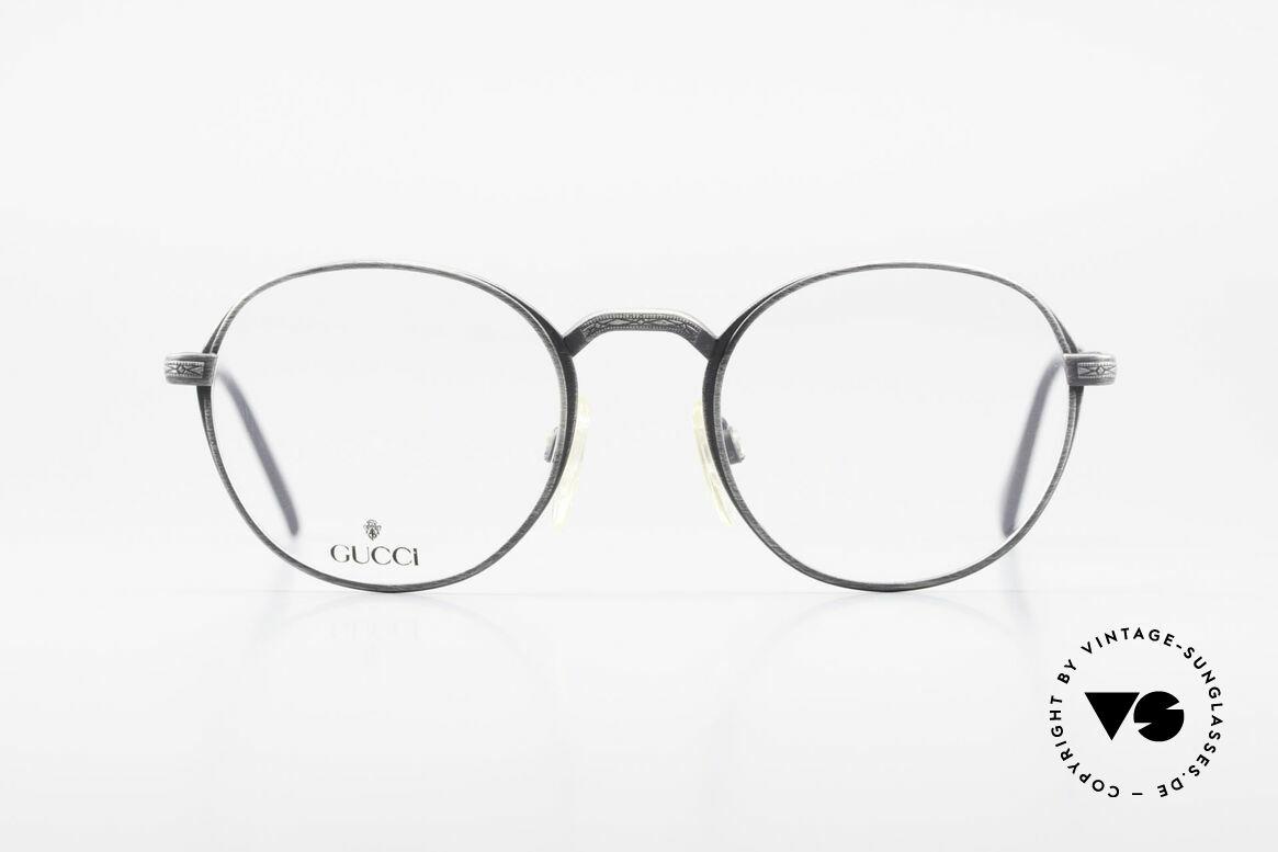 Gucci 1226 Klassische 80er Panto Brille, eine echte 1980er Rarität in Premium-Qualität, Passend für Herren und Damen