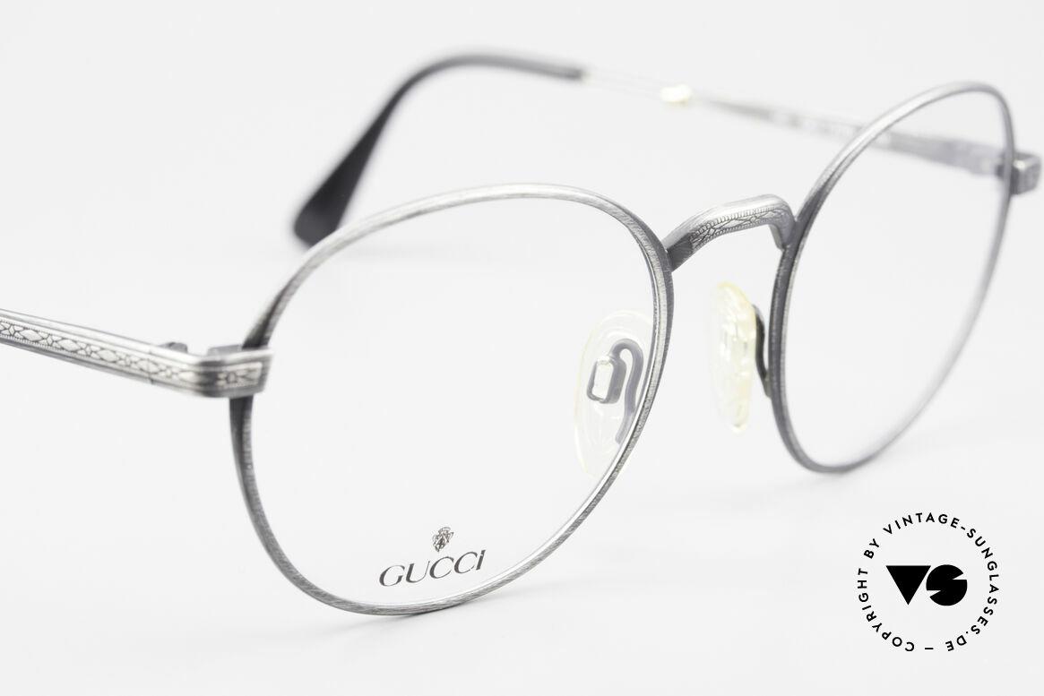 Gucci 1226 Klassische 80er Panto Brille, ungetragen (wie alle unsere vintage Fassungen), Passend für Herren und Damen