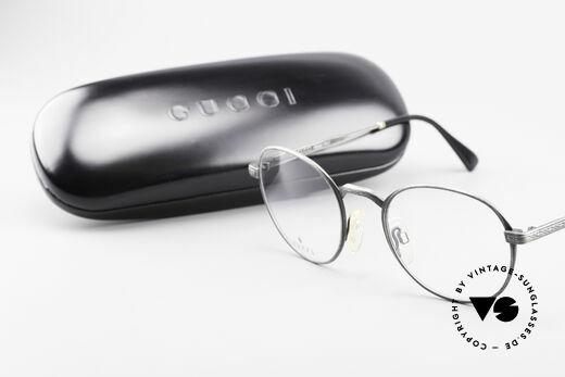 Gucci 1226 Klassische 80er Panto Brille, KEINE Retromode, sondern ein altes ORIGINAL!, Passend für Herren und Damen