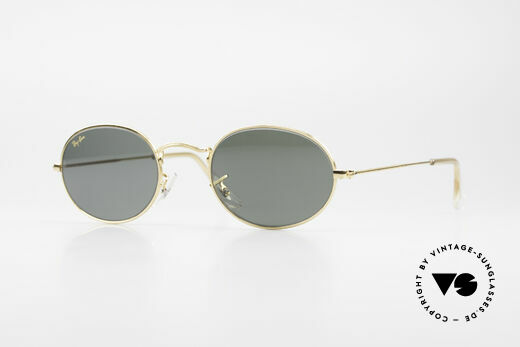 Ray Ban Classic Style I B&L USA Sonnenbrille Oval Details