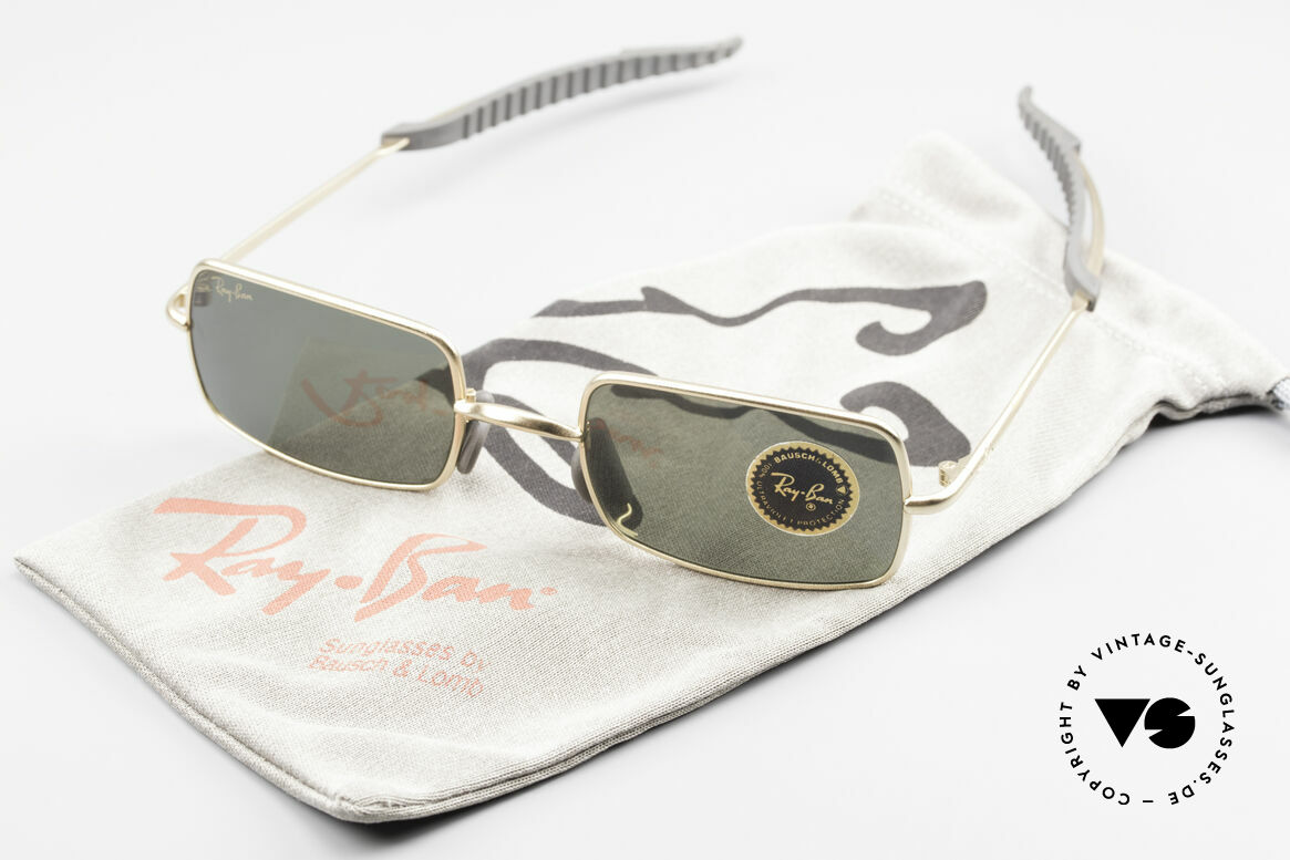 Ray Ban Orbs 6 Base Square Eckige B&L USA Sport Brille