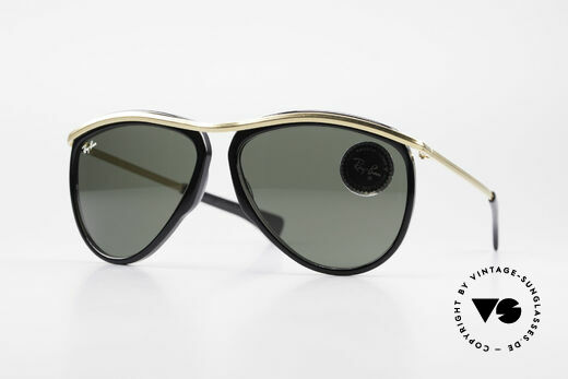 Ray Ban Olympian Series Alte B&L USA Aviator Brille Details