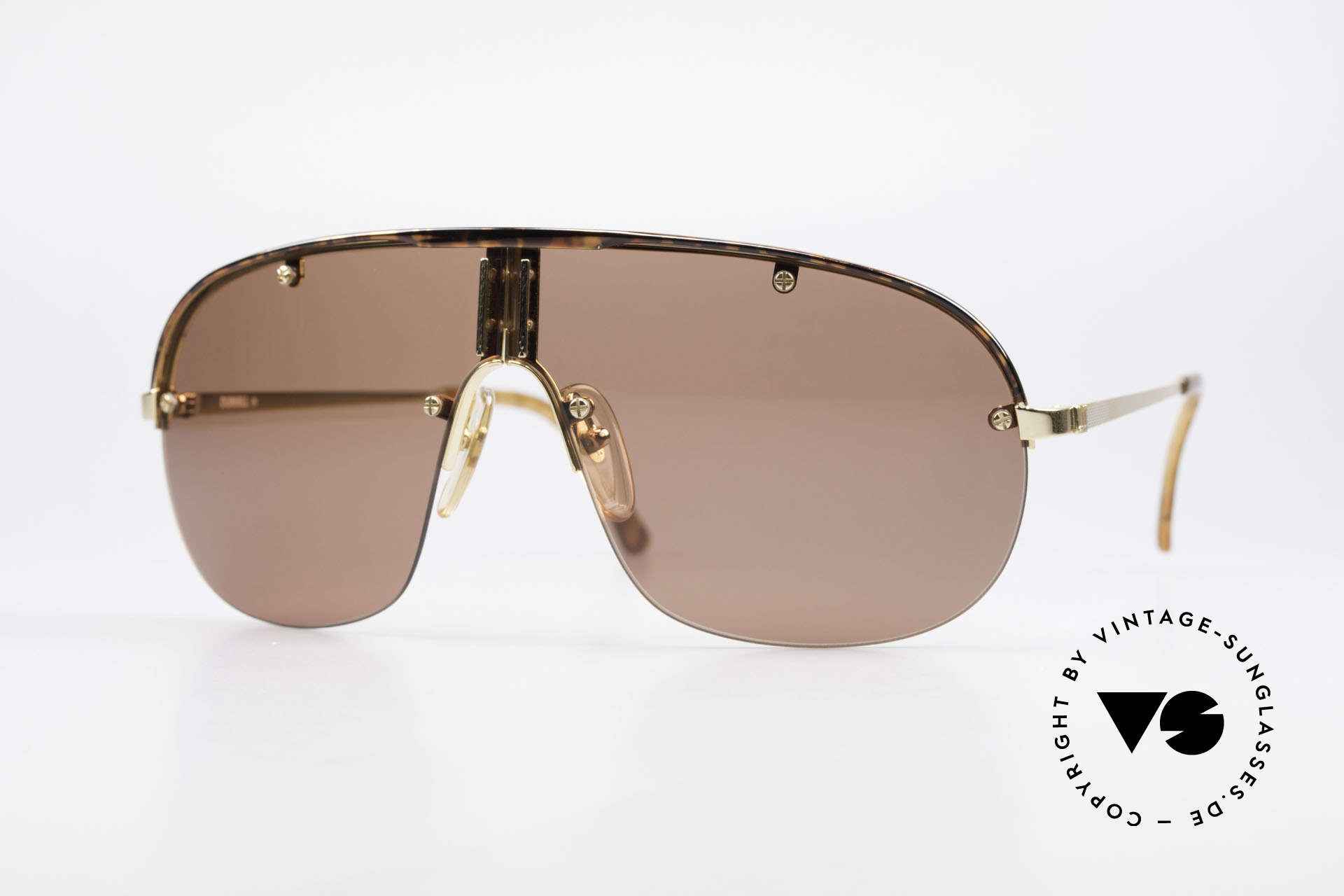 Dunhill 6102 Rare 90er Herren Sonnenbrille, sehr stilvolle Herrensonnenbrille von Alfred Dunhill, Passend für Herren