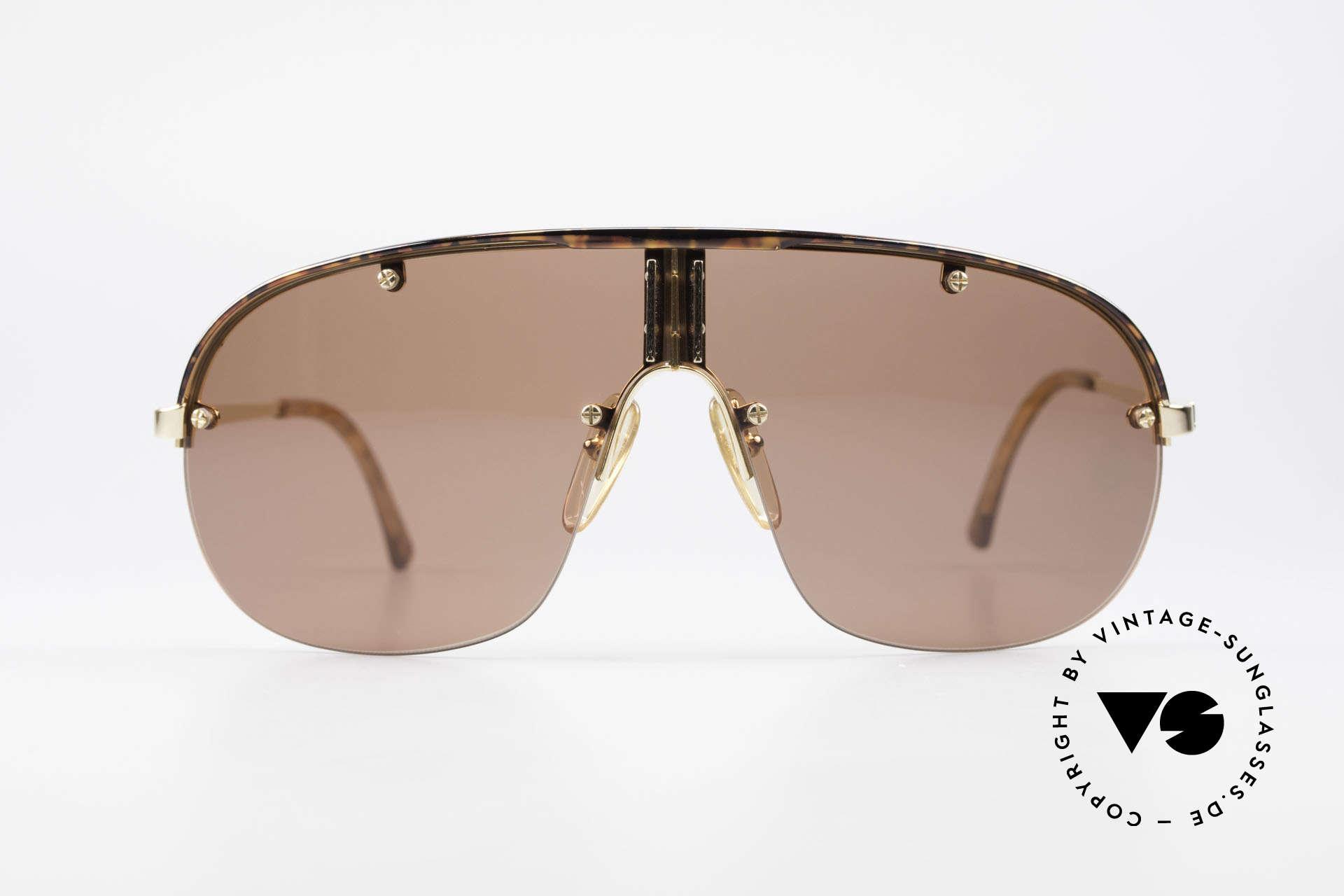 Dunhill 6102 Rare 90er Herren Sonnenbrille, das meistgesuchte vintage Dunhill Modell von 1990, Passend für Herren