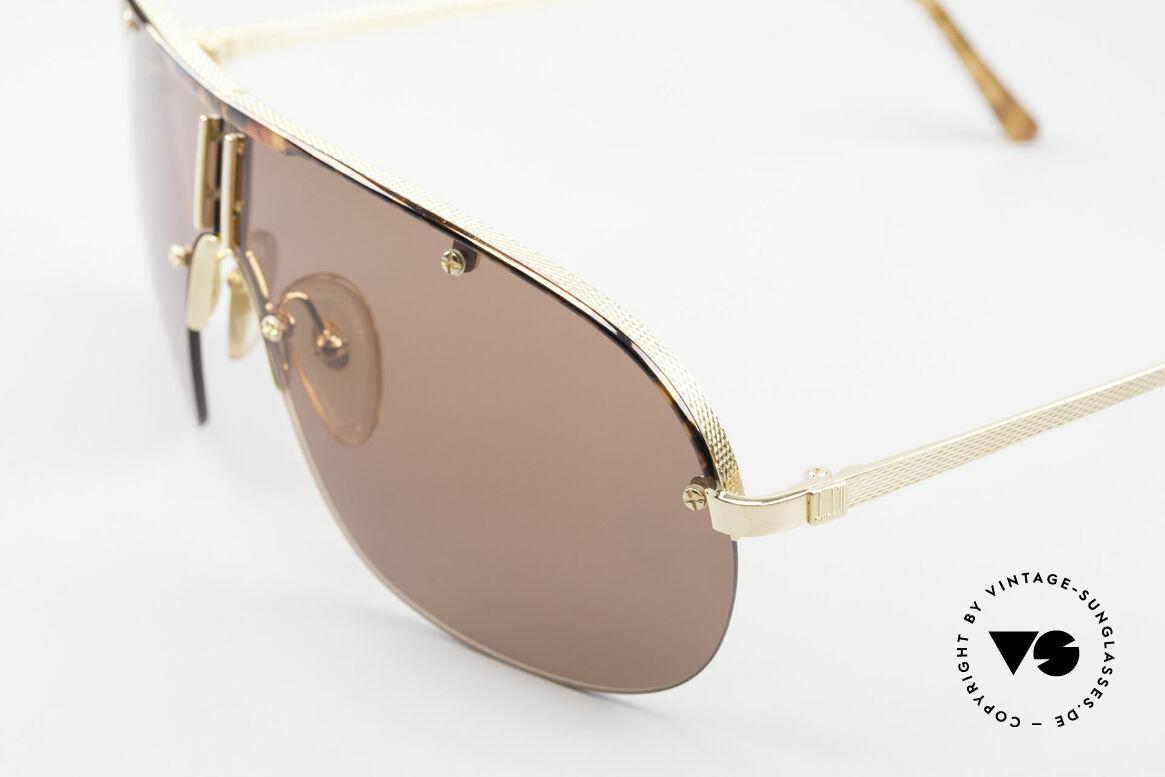 Dunhill 6102 Rare 90er Herren Sonnenbrille, eine Kombination aus klassischer Eleganz & Lifestyle, Passend für Herren