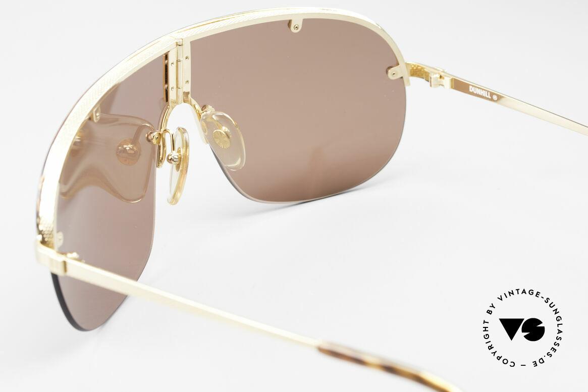 Dunhill 6102 Rare 90er Herren Sonnenbrille, KEINE Retrosonnenbrille; ein 29 Jahre altes Original, Passend für Herren
