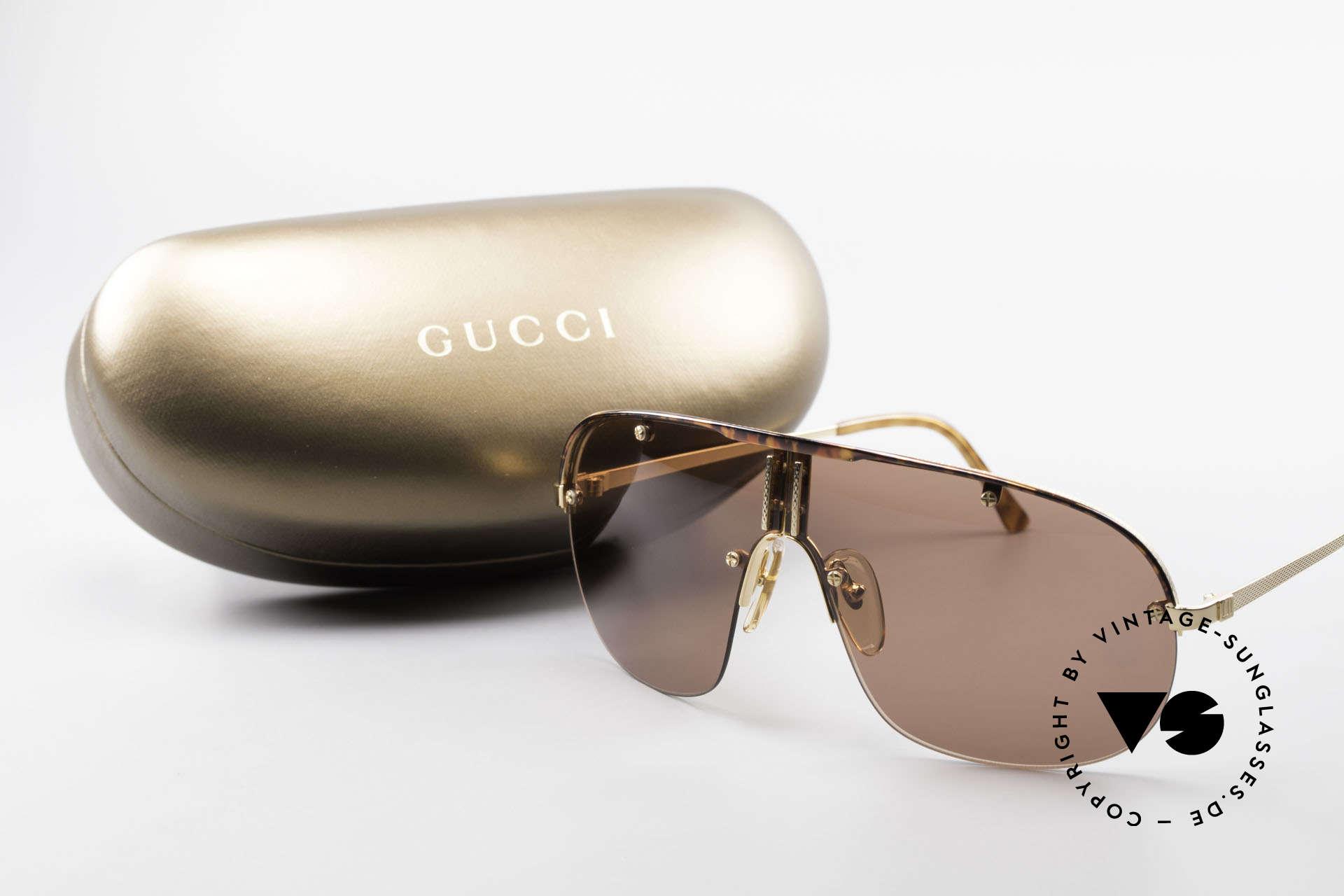 Dunhill 6102 Rare 90er Herren Sonnenbrille, Größe: large, Passend für Herren