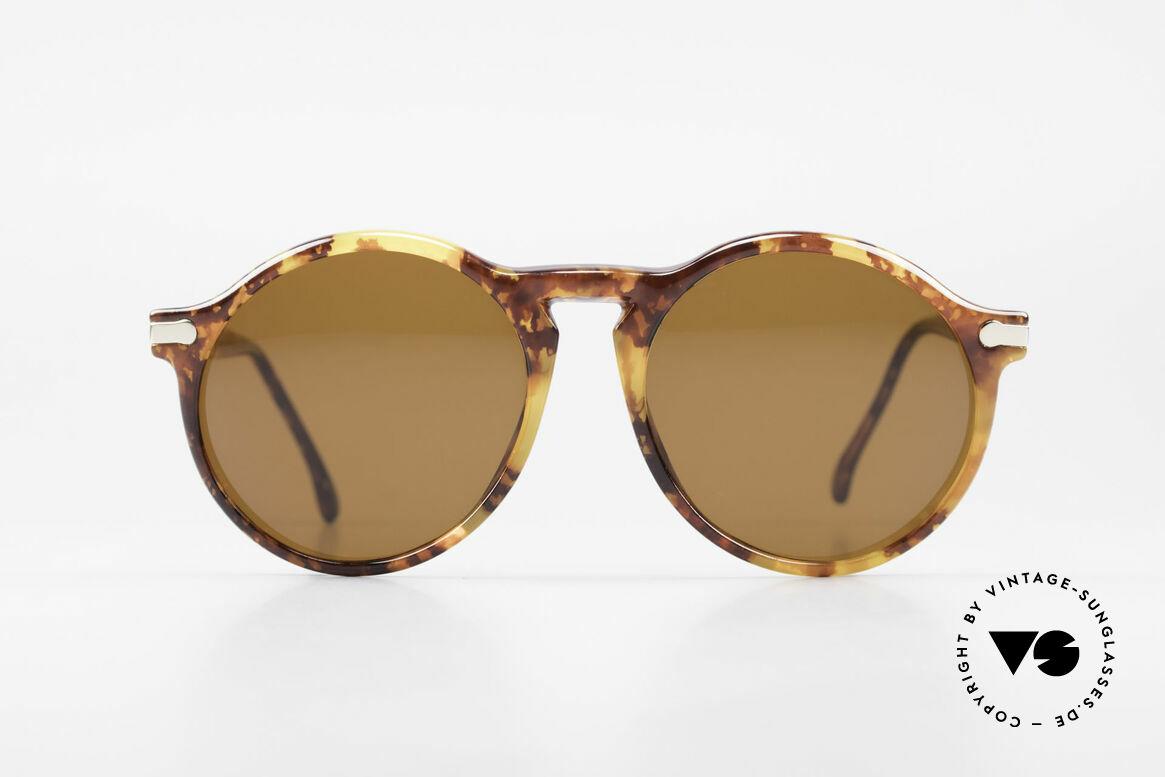BOSS 5160 Grosse Panto Sonnenbrille, sehr große PANTO-Form in interessanter Farbe, Passend für Herren