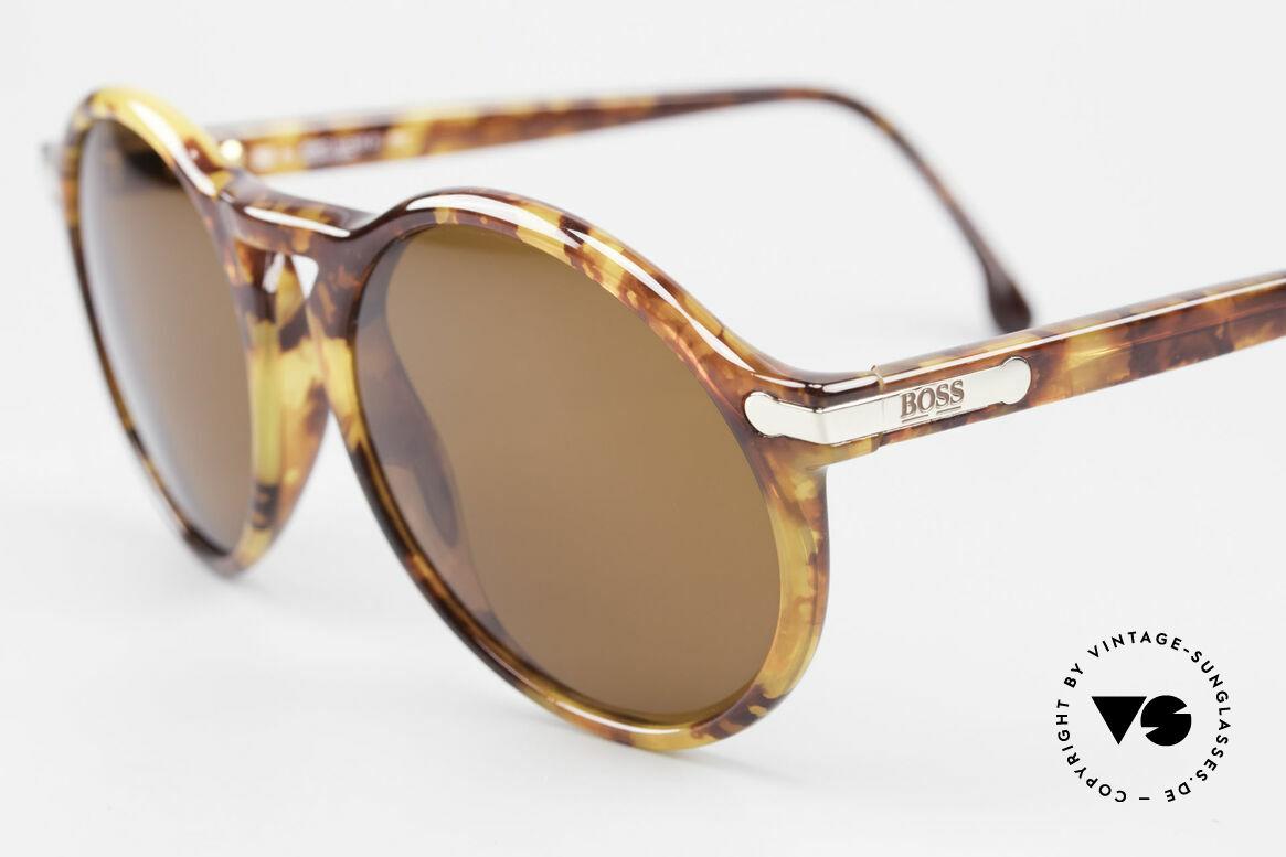BOSS 5160 Grosse Panto Sonnenbrille, aus damaliger Kooperation von BOSS & Carrera, Passend für Herren