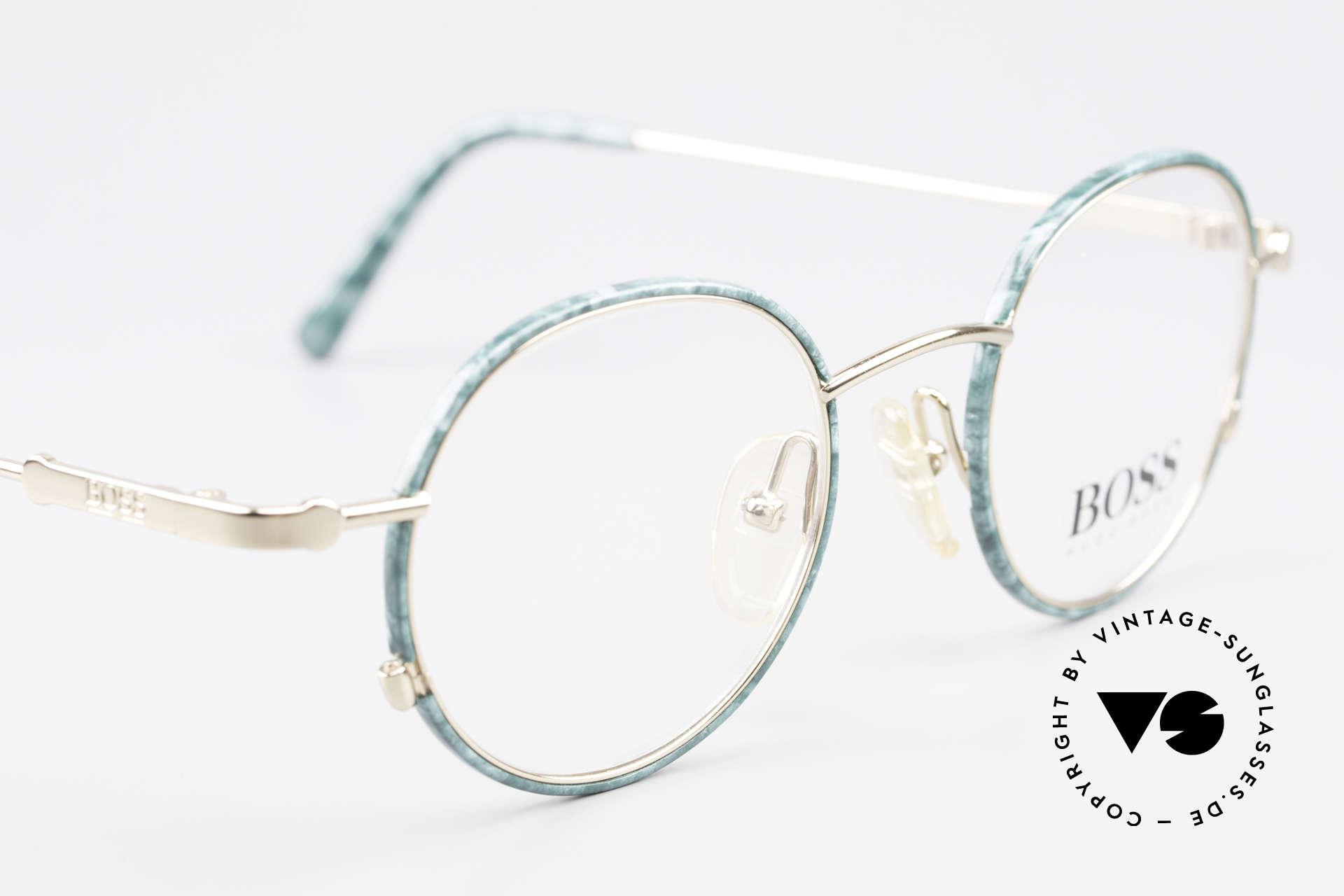 BOSS 5148 Runde Panto Style Fassung, KEINE Retrobrille; sondern ein echter DesignKlassiker, Passend für Herren und Damen