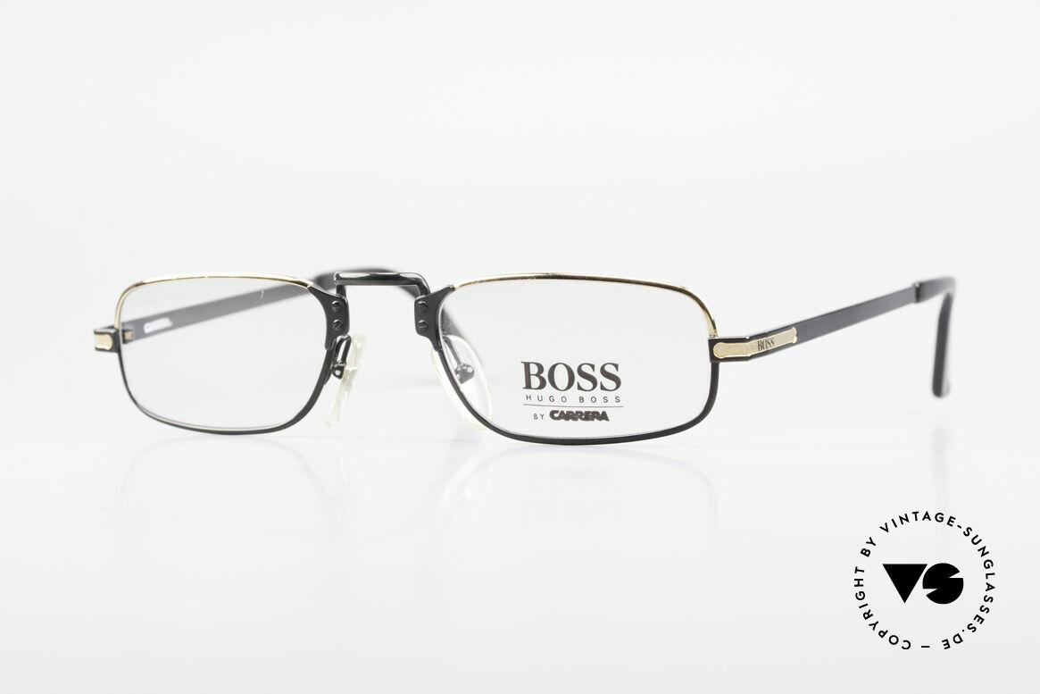 BOSS 5100 Klassische Herren Lesebrille, klassische vintage Designer-Fassung von Hugo BOSS, Passend für Herren