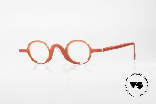 Theo Belgium Lichten Kunstvolle Designer Brille Details