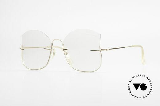 Ray Ban Balgrip 702 Gold Filled Vintage Brille Details