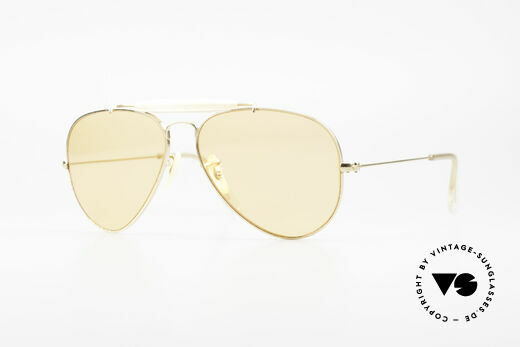 Ray Ban Outdoorsman Ambermatic Changeable Linsen Details
