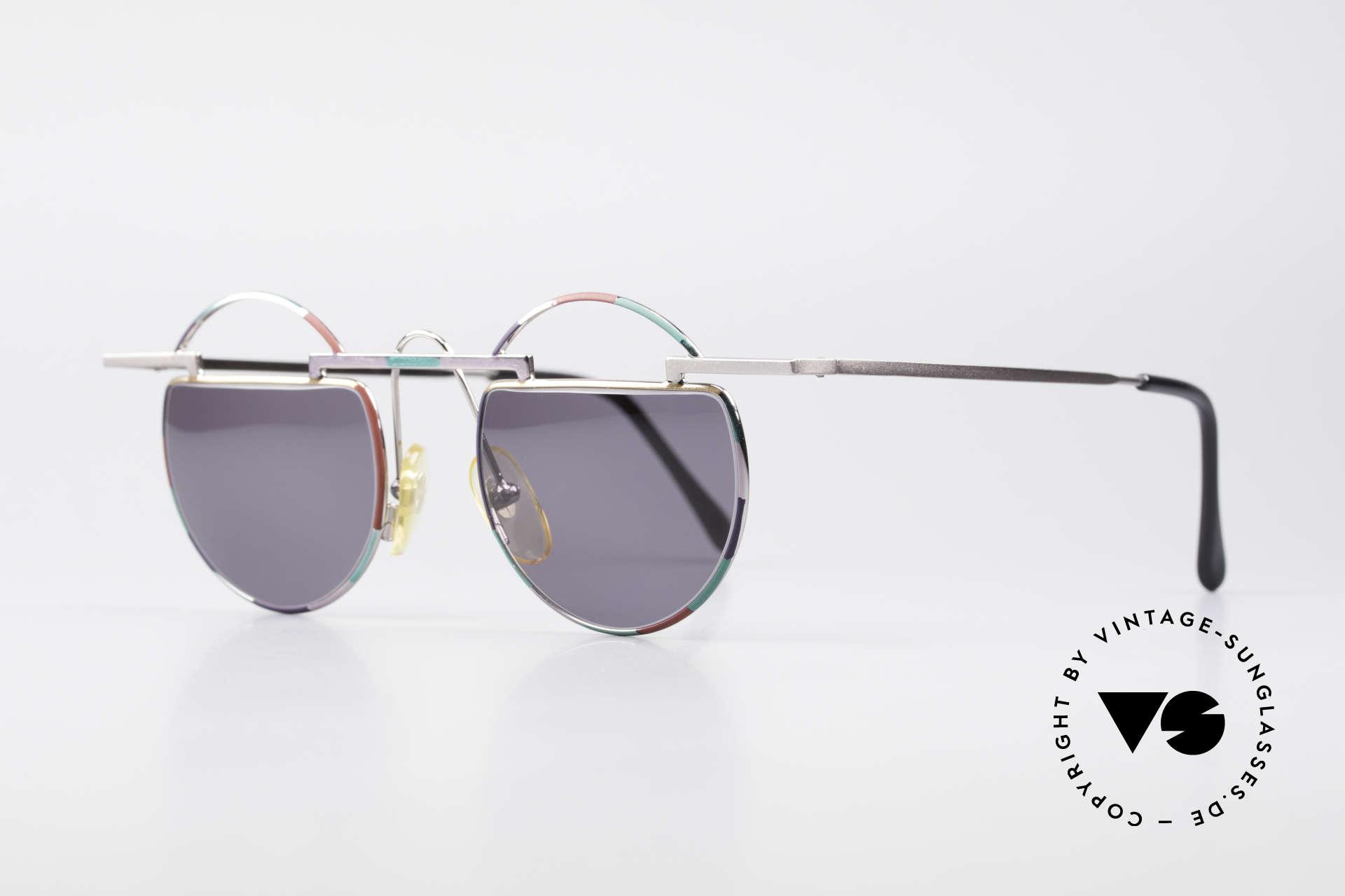 Taxi 221 by Casanova Vintage Kunst Sonnenbrille, verkörpert die Ausgelassenheit des venez. Karnevals, Passend für Damen