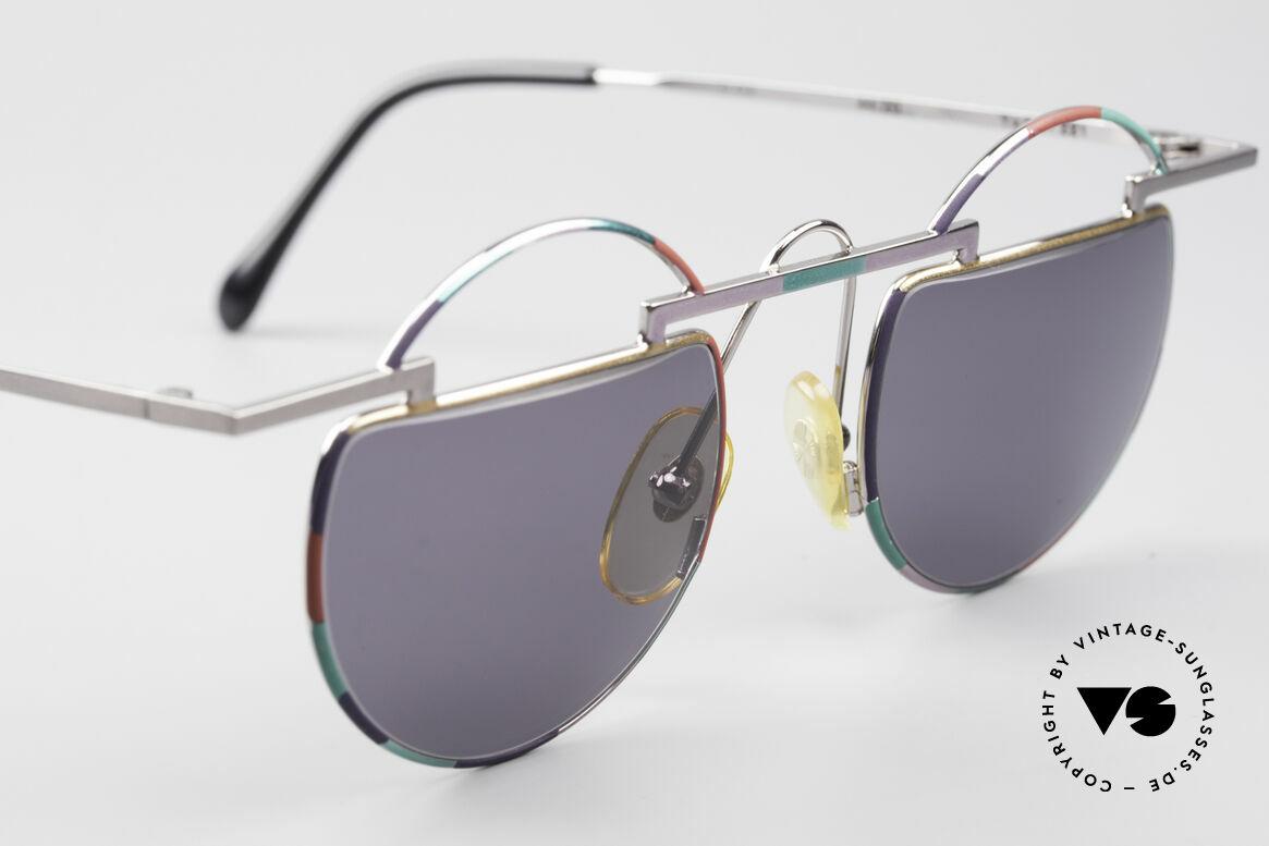 Taxi 221 by Casanova Vintage Kunst Sonnenbrille, zudem funktional als Brille / Sonnenbrille verglasbar, Passend für Damen