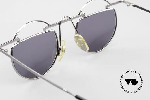 Taxi 221 by Casanova Vintage Kunst Sonnenbrille, für Brillenträger, die es schrill und humorvoll mögen, Passend für Damen