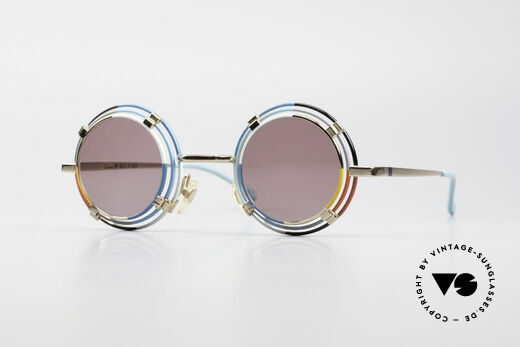 Casanova MTC 1 Kunstvolle Runde Sonnenbrille Details