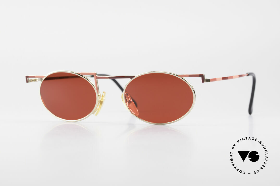 Taxi 227 by Casanova Designer Sonnenbrille 3D Rot