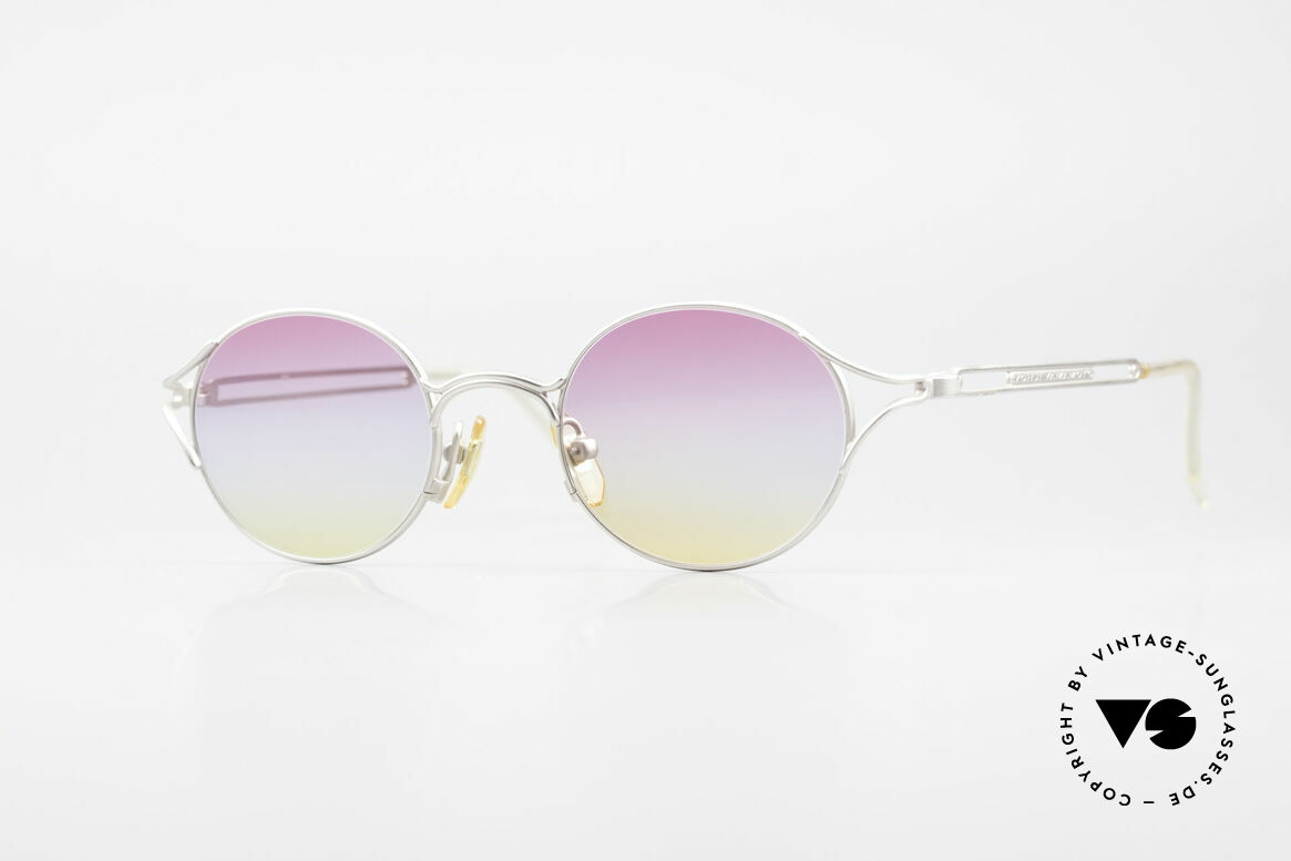 Yohji Yamamoto 51-4103 Panto Designer Sonnenbrille, außergewöhnliche vintage Y. Yamamoto Sonnenbrille, Passend für Herren und Damen