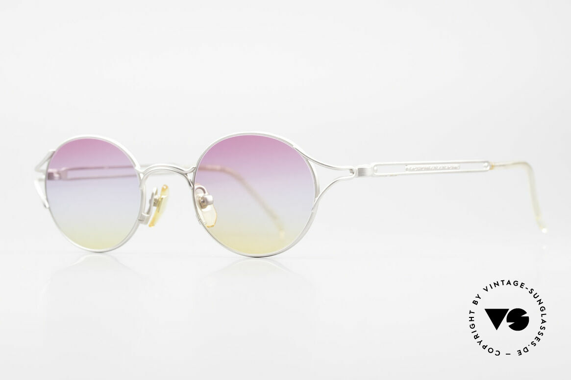 Yohji Yamamoto 51-4103 Panto Designer Sonnenbrille, MUST HAVE für alle Liebhaber von Qualität & Design, Passend für Herren und Damen