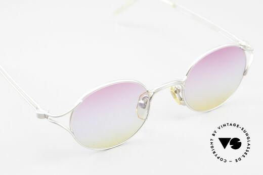 Yohji Yamamoto 51-4103 Panto Designer Sonnenbrille, KEINE Retromode; ein Y.Yamamoto Original von 1995, Passend für Herren und Damen