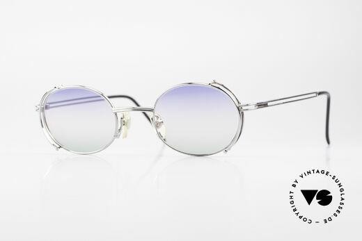 Yohji Yamamoto 52-4107 Ovale Designer Sonnenbrille Details